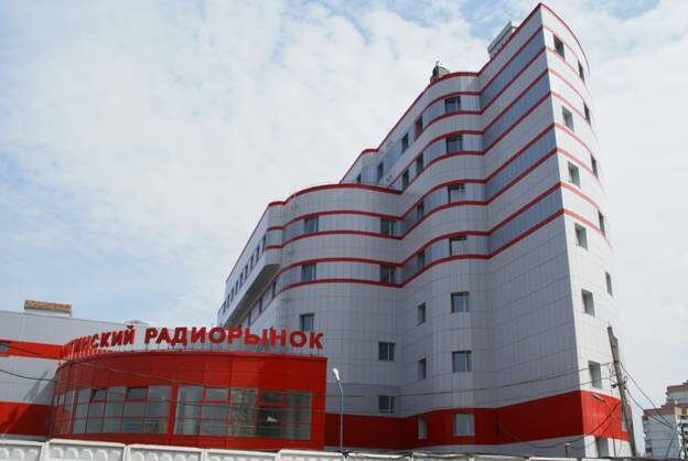 "Shopping center with a hotel in the building estate of ""Mitino"" Pyatnitskoe shosse ter 16"